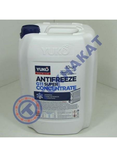 Жидкость охлаждающая (антифриз)  концентрат - 80 Super G11 YUKO