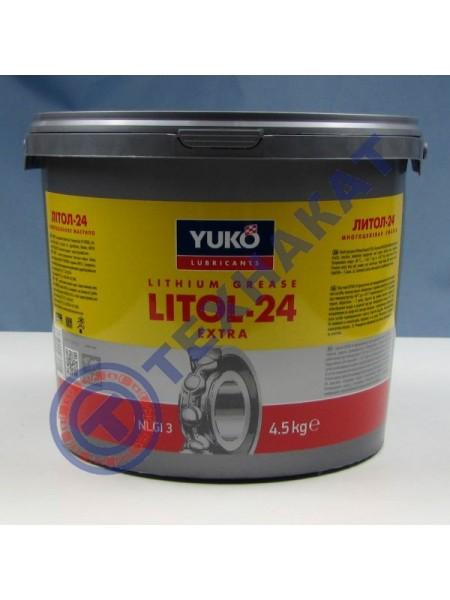 Литол-24 YUKO (Ведро 5л/4,5 кг)